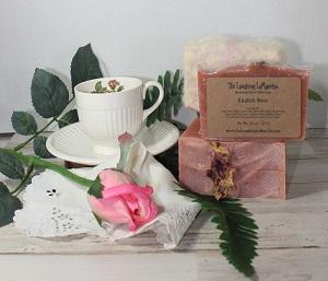 English Rose Handmade Goat's Milk Soap