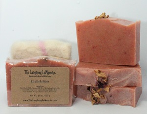 English Rose Handmade Goat's Milk Soap