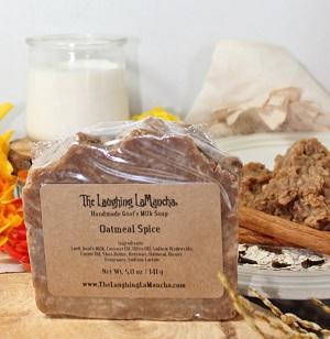 Oatmeal Spice Handmade Goat's Milk Soap